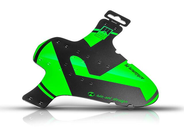 "rie:sel design schlamm:PE Front Mudguard 26-29"" green"